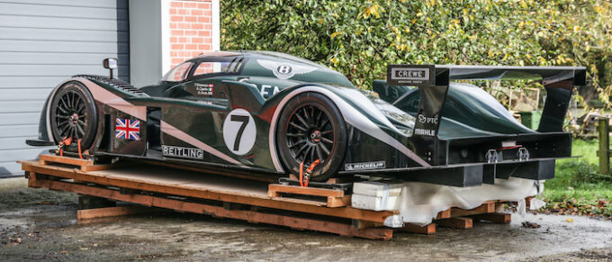 Team Bentley Racing Automobilia Takes Pole Position at Auction - Bentley Speed 8 show car