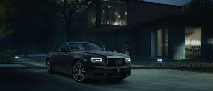 Wraith Kryptos Code Clues Revealed by Rolls-Royce - Car Shot