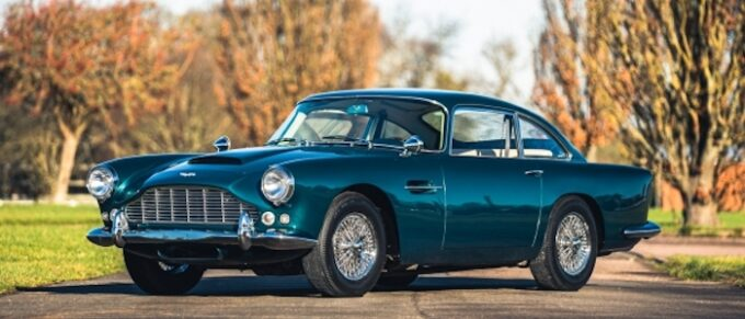 1963 Aston Martin DB4 Series 5 at Silverstone Auctions First Sale of 2021