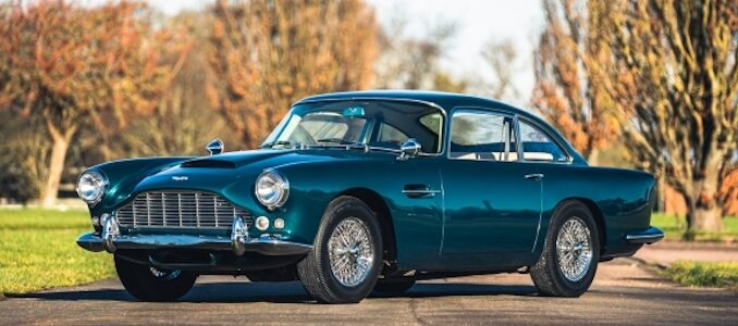 1963 Aston Martin DB4 Series 5