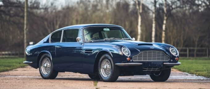 1969 Aston Martin DB6 Mk2 at Silverstone Auctions First Sale of 2021