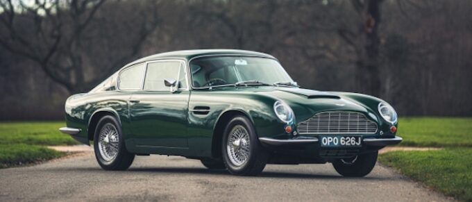 1970 Aston Martin DB6 Mk2 Vantage at Silverstone Auctions First Sale of 2021