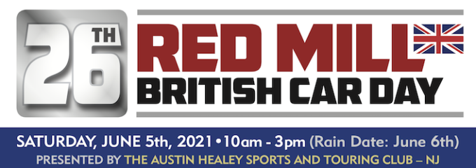 26th Red Mill British Car Day