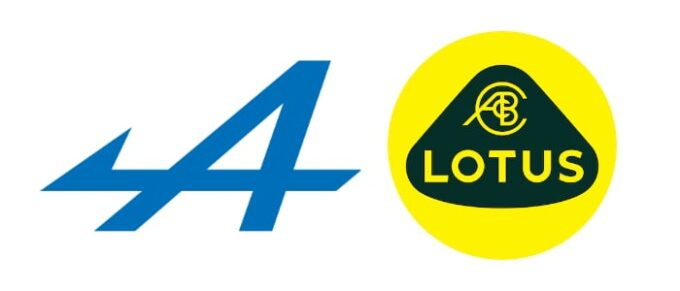 Alpine and Lotus Announce Technical Collaboration - Company Logos