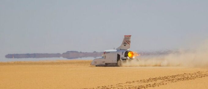 Bad news for land-speed record fans as Bloodhound goes up for sale - Header