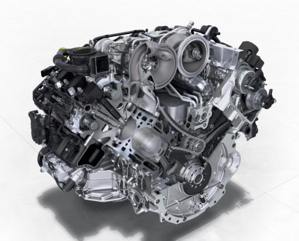 Flying Spur V8 Engine 1