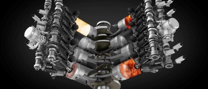 Flying Spur V8 Engine