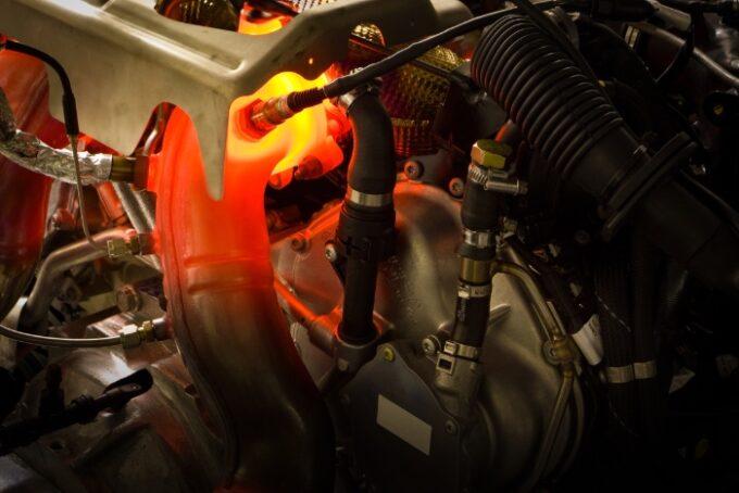 Flying Spur V8 Engine - 5