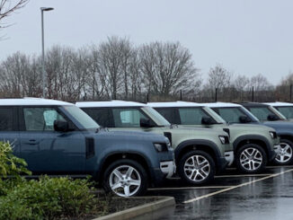 JLR Coronavirus Support Defender Fleet