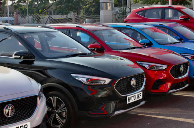 Photo of new car lineup - MG Beats All Records in 2020 with Sales and Market Share