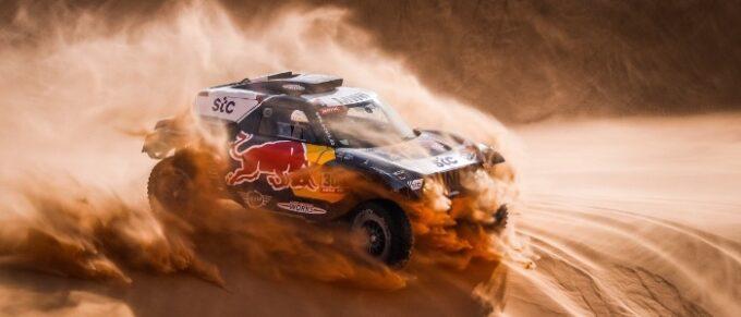 300 Sainz Carlos (esp), Cruz Lucas (esp), Mini, X-Raid Mini JCW Team, Auto, action during the 3rd stage of the Dakar 2021 between Wadi Al Dawasir and Wadi Al Dawasir, in Saudi Arabia on January 5, 2021 - Photo Antonin Vincent / DPPI
