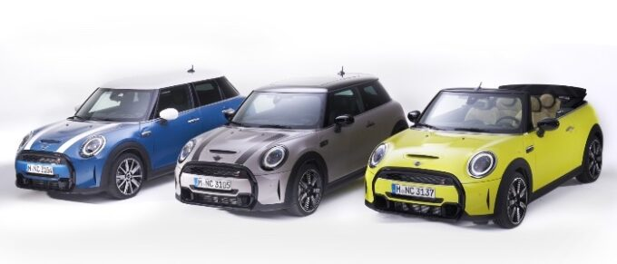 MINI USA unveils new MY 2022 MINI Hardtops and Convertibles