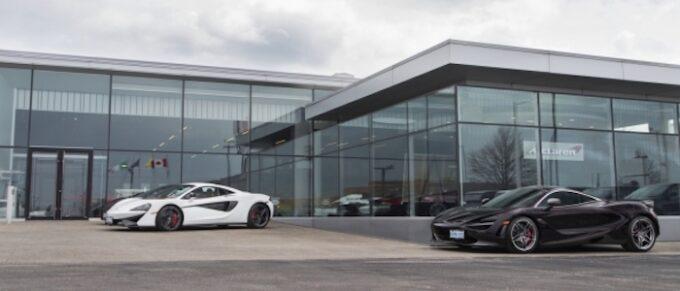 McLaren Toronto, Canada - Dealership and cars