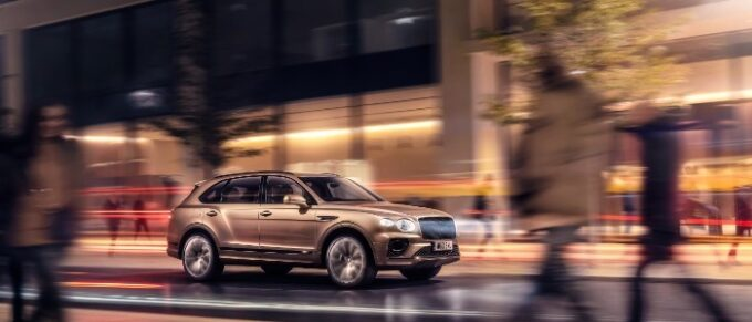 New Bentayga Hybrid - On the street