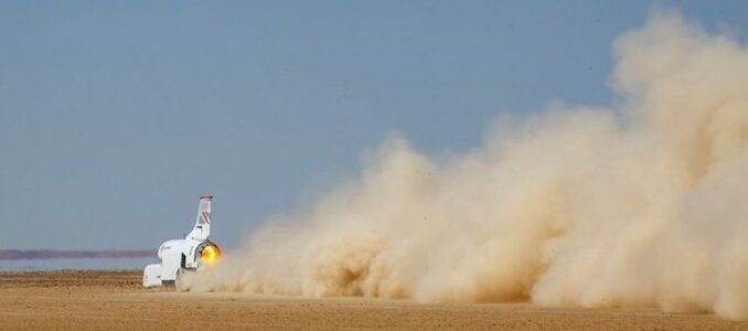 Record Seeking Bloodhound LSR Project Up For Sale