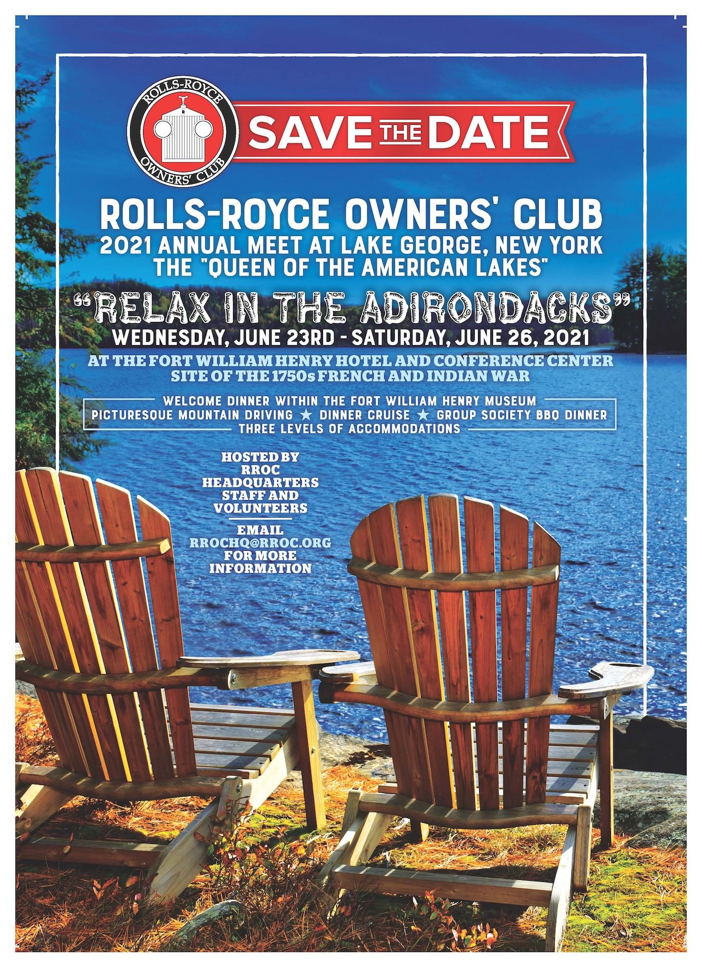 Rolls-Royce Owners' Club Annual Meet 2021 - New York