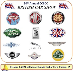 30th Annual All British Car Show - California
