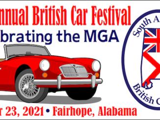 31st Annual British Car Festival - Alabama