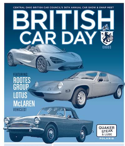 Central Ohio British Car Day 2021 - Columbus