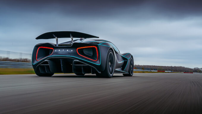 Lotus Evija honored in BBC Top Gear Electric Awards - Low and Mean