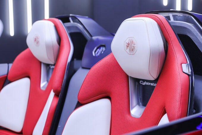 MG Cyberster First Official Photos - 4 seats
