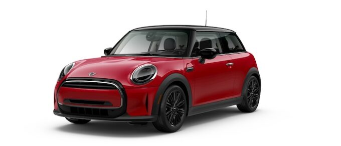 2022 Mini Oxford Edition Hardtops in Red