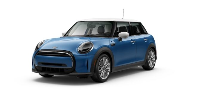 Mini USA Announces Launch of 2022 Mini Oxford Edition Hardtops. Holds MSRP at Original Model Year 2018 Pricing - Blue and White