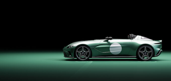 Optional DBR1 Specification now available on V12 Speedster 04