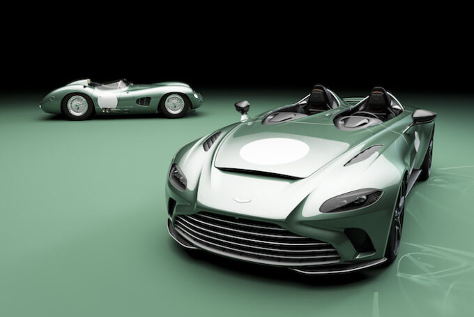 Optional DBR1 Specification now available on V12 Speedster 05