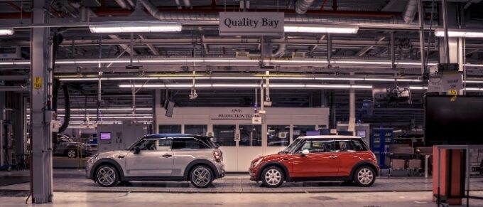 The Modern MINI - 20 Years in Production - Older and New on Factory Floor Quality Bay