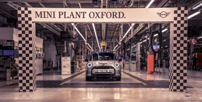 The Modern MINI - 20 Years in Production - Oxford Plant finish line