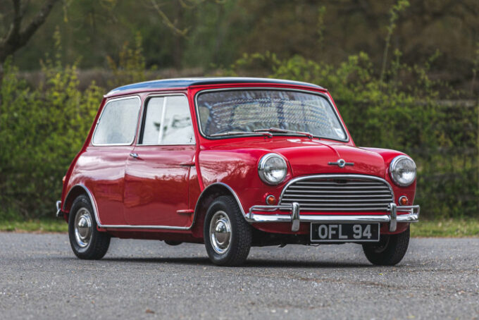 Silverstone Auctions Closes May Catalog with Low Mileage Examples - 1961 Mini Cooper 997