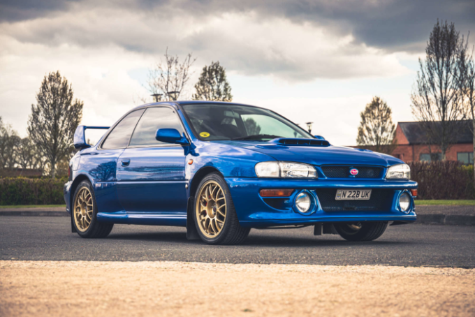 Silverstone Auctions Closes May Catalog with Low Mileage Examples -  1999 Subaru 22B-STi Type Uk