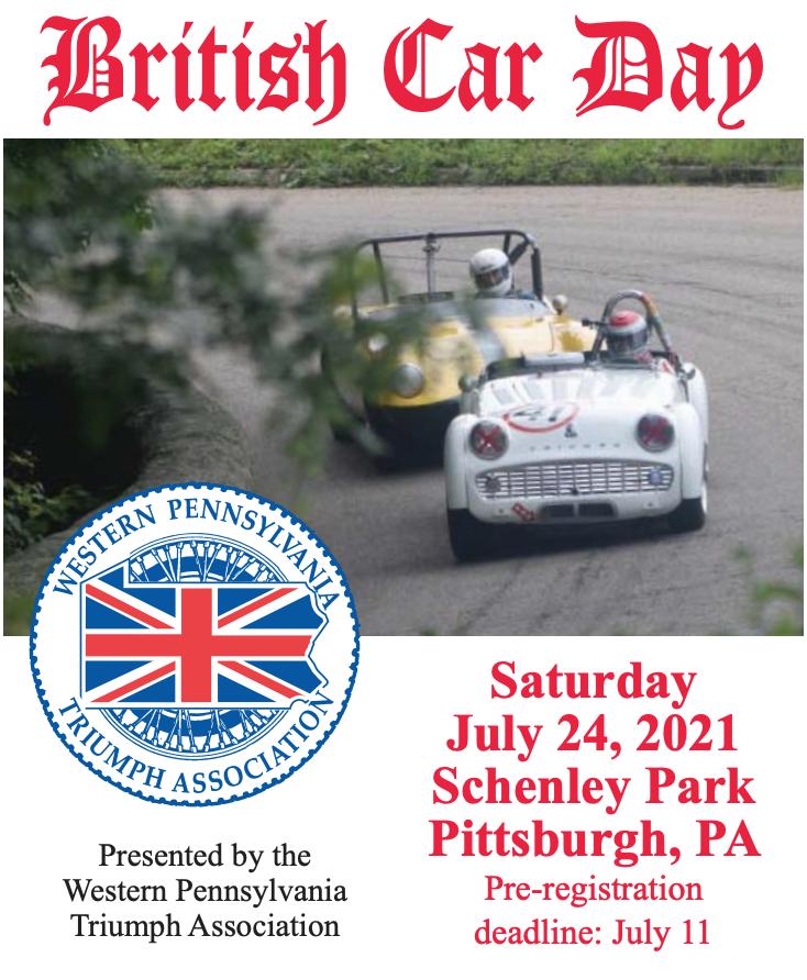 40th Annual Pittsburgh PA British Car Day