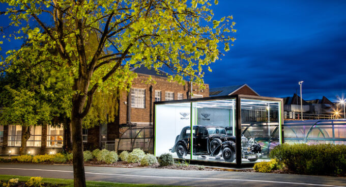 75 years at Crewe 1 Bentley MKV