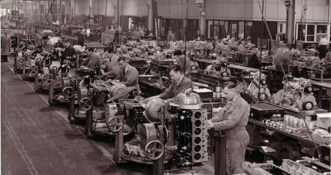 75 years at Crewe 6 1950s engine production