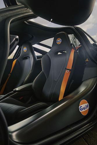 Gulf McLaren 720S Interior