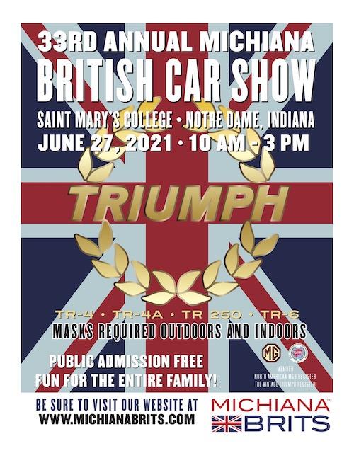 Michiana Brits 2021 poster
