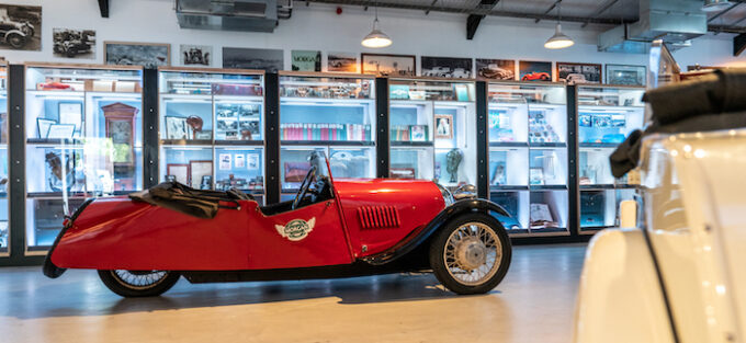 Morgan Motor Company opens interactive new museum, The Archive Room, at the redeveloped Morgan Experience Centre