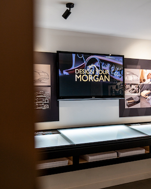 Morgan Motor Company opens interactive new museum The Archive Room at the redeveloped Morgan Experience Centre 00012