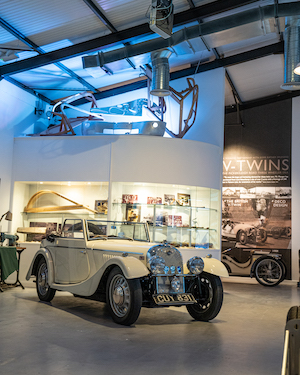 Morgan Motor Company opens interactive new museum The Archive Room at the redeveloped Morgan Experience Centre 00013