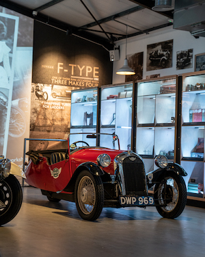Morgan Motor Company opens interactive new museum The Archive Room at the redeveloped Morgan Experience Centre 00014
