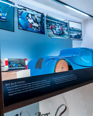Morgan Motor Company opens interactive new museum The Archive Room at the redeveloped Morgan Experience Centre 00019