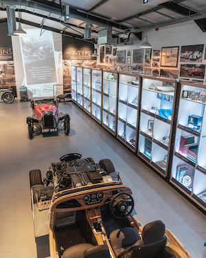 Morgan Motor Company opens interactive new museum The Archive Room at the redeveloped Morgan Experience Centre 00021
