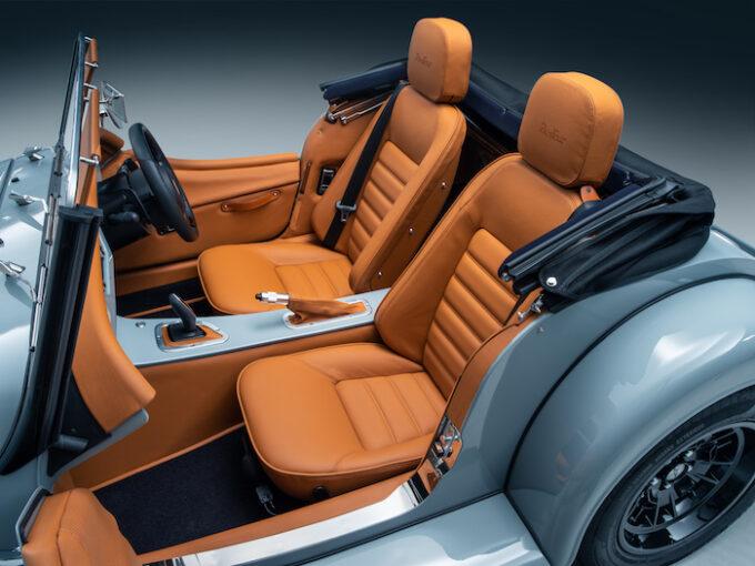 Morgan Plus Four interior seats