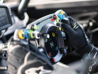 1 Bentley Fanatec GT3 Steering Wheel