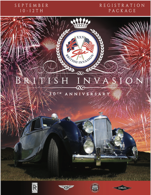 2021 British Invasion Registration Package - Cover Photo