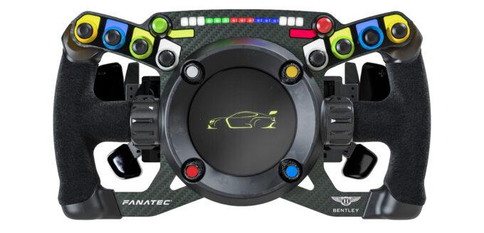 5 Bentley Fanatec GT3 Steering Wheel