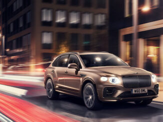 Bentayga Hybrid on sale in UK and EU - 3/4 view
