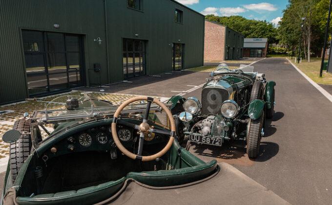 Bentley Comms Birking ScrambleBicester Heritage